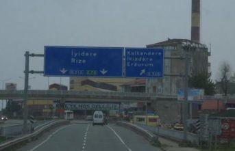 Karayolları uyardı - Rize'de o bölgede çalışma