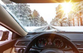 Kış aylarında araç bakımlarına dikkat!