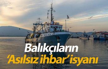 Rizeli balıkçıların 'Asılsız ihbar' isyanı