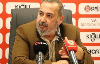 Samsunspor başkanından şartlı istifa