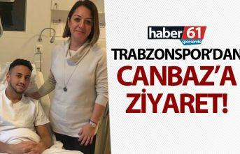 Trabzonspor'dan Ahmet Canbaz'a ziyaret