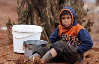 Hayatın zorlaştığı kamplara yardım eli Türkiye'den