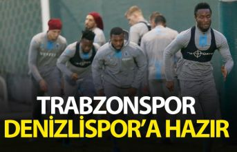 Trabzonspor Denizlispor'a hazır