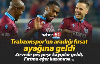Trabzonspor için fırsat haftası | Süper Lig puan...