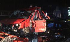 TEM'de tırın çarptığı oto kurtarıcı sürücüsü...