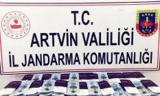 Artvin'de operasyon! Binlerce lira değerinde...