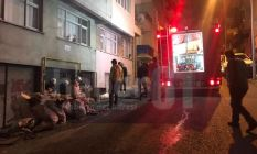 Trabzon'da korkutan yangın