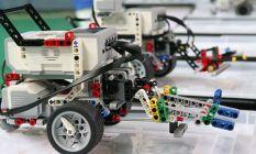 Trabzon'da robotlar yarıştı