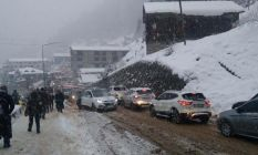 Doğu Karadeniz'de kış - 114 köy yolu kapandı