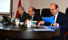 Trabzon'da Uyuşturucu ile mücadele toplantısında...