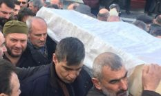 Bakan Turhan'ın acı günü, Trabzon'da tabutu...