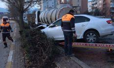 Denizli'de trafik kazası
