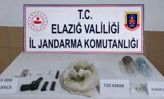 Elazığ'da uyuşturucu operasyonu!