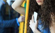 Kadınların kabusu olan tramvay tacizcisi suçüstü yakalandı!