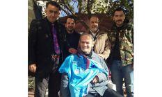 Trabzonspor'dan Eynesilli engelli vatandaşa forma...