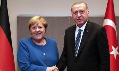 Erdoğan ve Merkel'den Libya görüşmesi