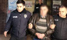 Akrabasını yaktığı iddiasıyla gözaltına alındı