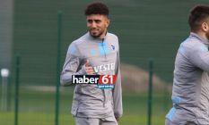 Trabzonspor'un yeni transfer ilk idmanında
