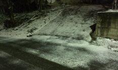 Trabzon' a beklenen kar yağdı!