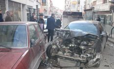 Kırıkkale'de trafik kazası!