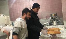Zabıta ekiplerinden ekmek gramaj kontrolü