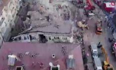 Elazığ'da enkaz çalışmaları sürüyor