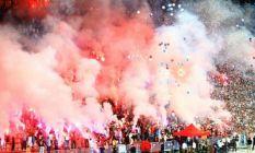 Taraftarlardan Trabzonspor'a Fenerbahçe maçı...