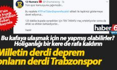 Trabzonspor düşmanlığıyla ne yapacaklarını...