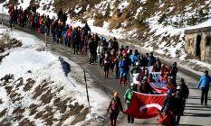 Zigana'da hayatını kaybeden dağcılar anıldı