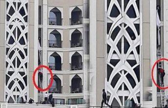 5 yıldızlı otelde yangın paniği! Böyle kurtarıldılar