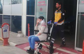 Eşi tarafdından darp edildi ağır yaralandı
