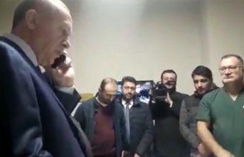 Cumhurbaşkanı Erdoğan Trabzon'daki patronu...