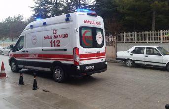 Konya'da kontrolden çıkan otomobil takla attı