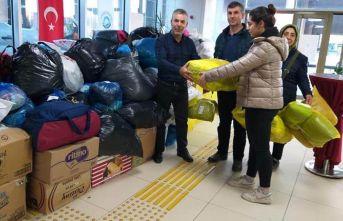 Ortahisar'ın yardım kampanyası devam ediyor