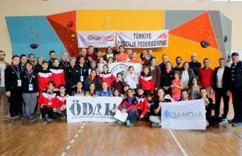 Trabzon'da Spor Tırmanış şampiyonası tamamlandı