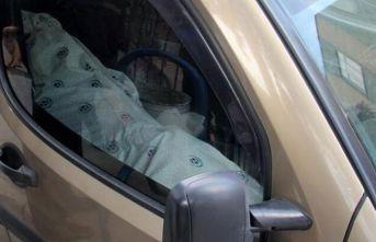 Adana'da cesetle yolculuk eden bir kişi polisi alarma geçirdi!