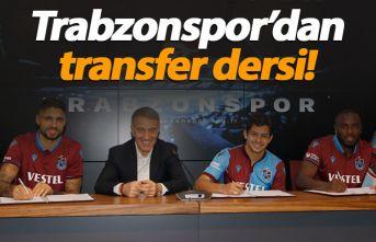 Trabzonspor'dan transfer dersi