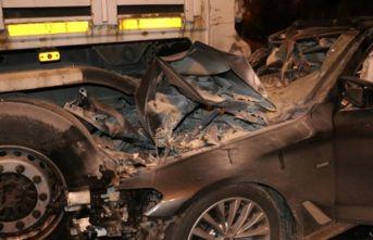 İzmir çevre yolunda feci kaza: 1 ölü