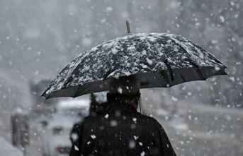 Meteoroloji'den 4 il için yoğun kar uyarısı