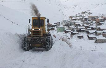 Bayburt'ta tüm köy yolları ulaşıma kapandı