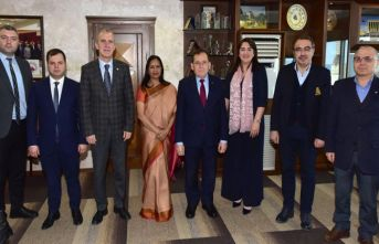 TTSO'da Türkiye Hindistan ticareti konuşuldu...