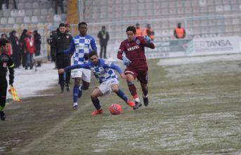 Erzurumspor - Trabzonspor karşılaşmasından kareler
