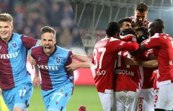Ligin en golcü iki takımı karşı karşıya: Trabzonspor...