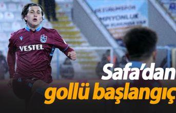 Safa Kınalı ilk maçında golle başladı