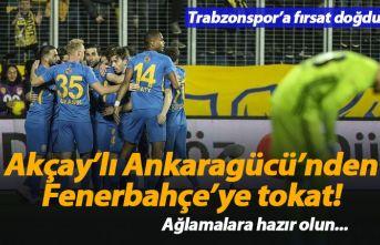Mustafa Akçay'lı Ankaragücü'nden Fenerbahçe'ye...