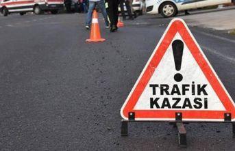 Giresun'da minibüs devrildi: 4 yaralı