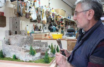 'En görkemli kale' Zilkale'nin minyatürünü yaptı
