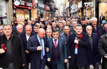 AK Parti Ortahisar gövde gösterisi yaptı
