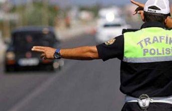 Trabzon'da sürücülere 437 bin Lira ceza!