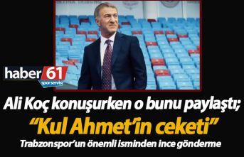 """Ali Koç'a """"Kul Ahmetli"""" gönderme!"""